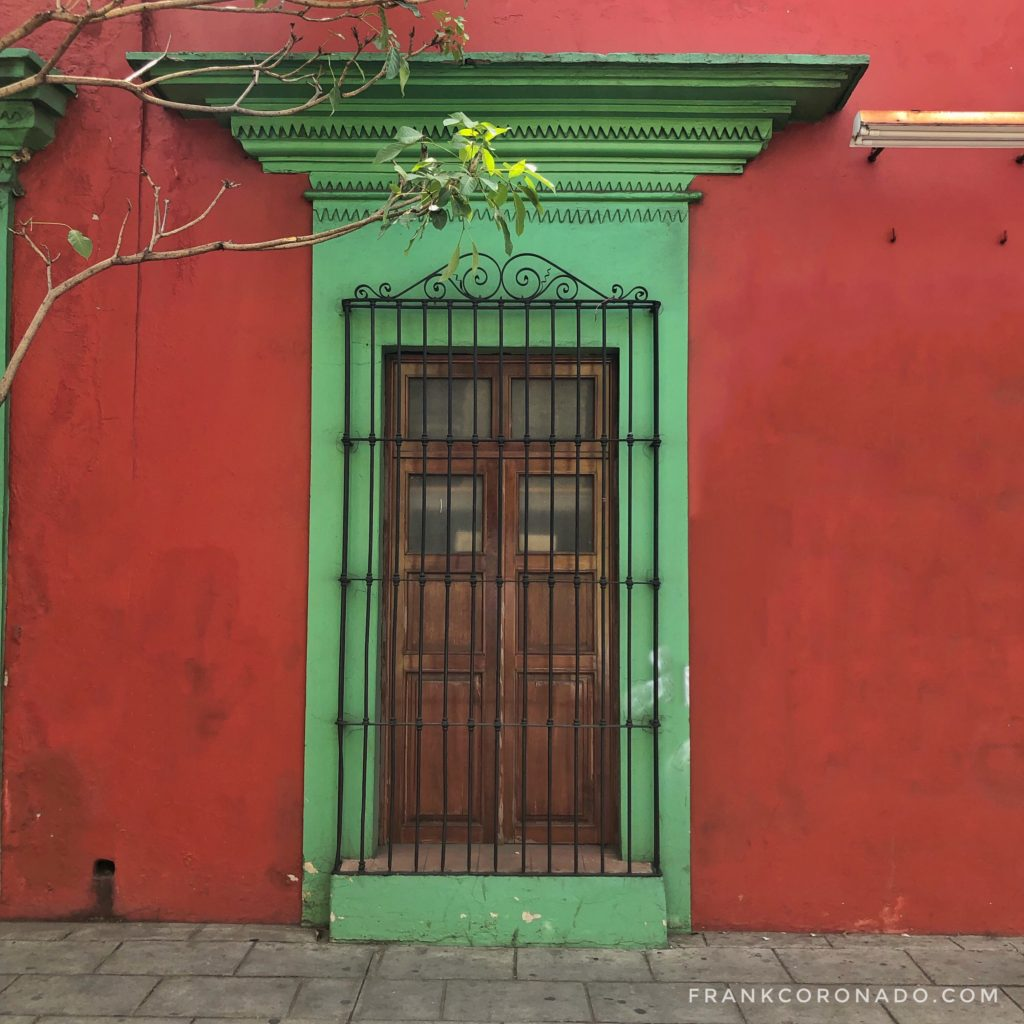 ventanas coloridas de oaxaca