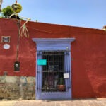 casa centro historico, barrio jalatlaco, casas de colores
