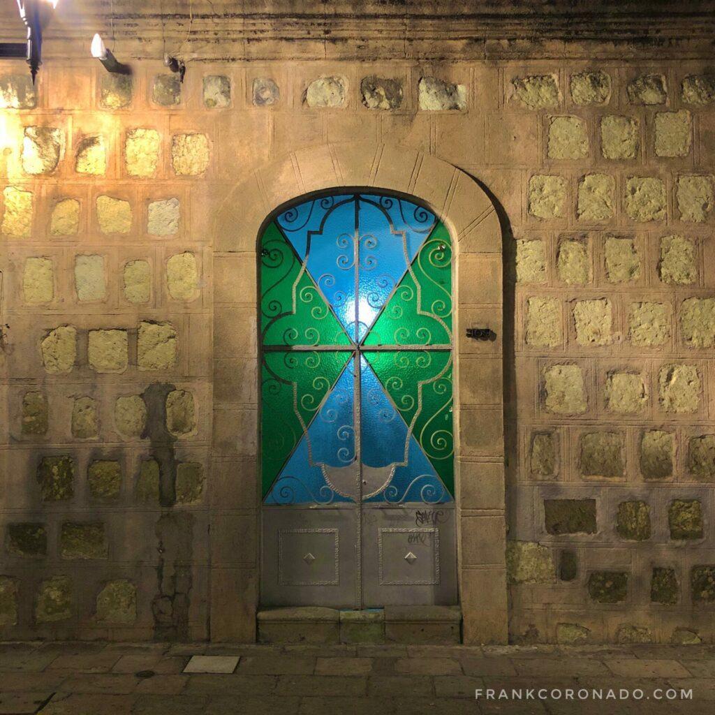 oaxaca de noche, casas del centro historico, casas de mexico