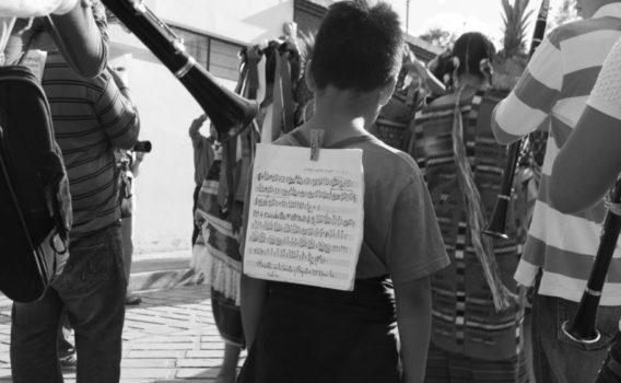 músico guelaguetza oaxaca