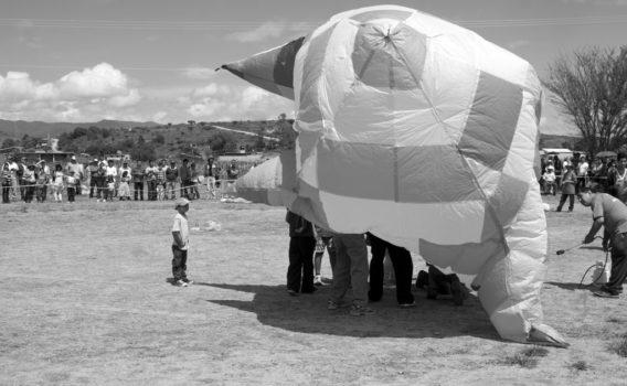 concurso de globos de papel en oaxaca