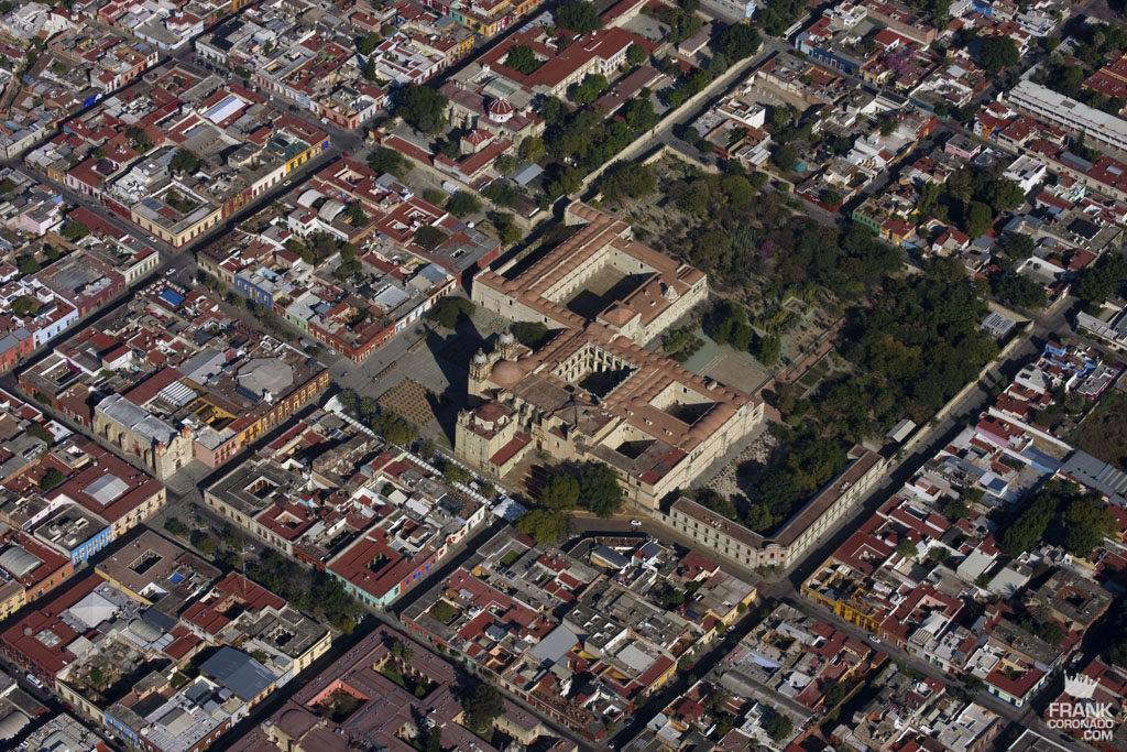 vista aerea de santo domingo oaxaca