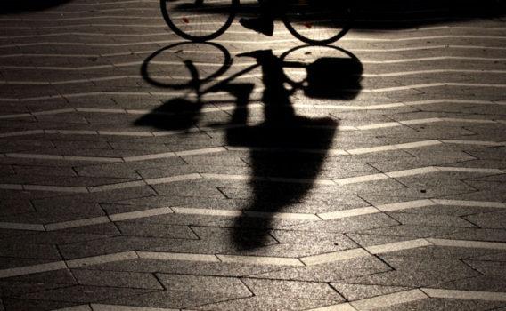 Silueta bicicleta en copenhague Frank Coronado vacaciones turismo fotografia