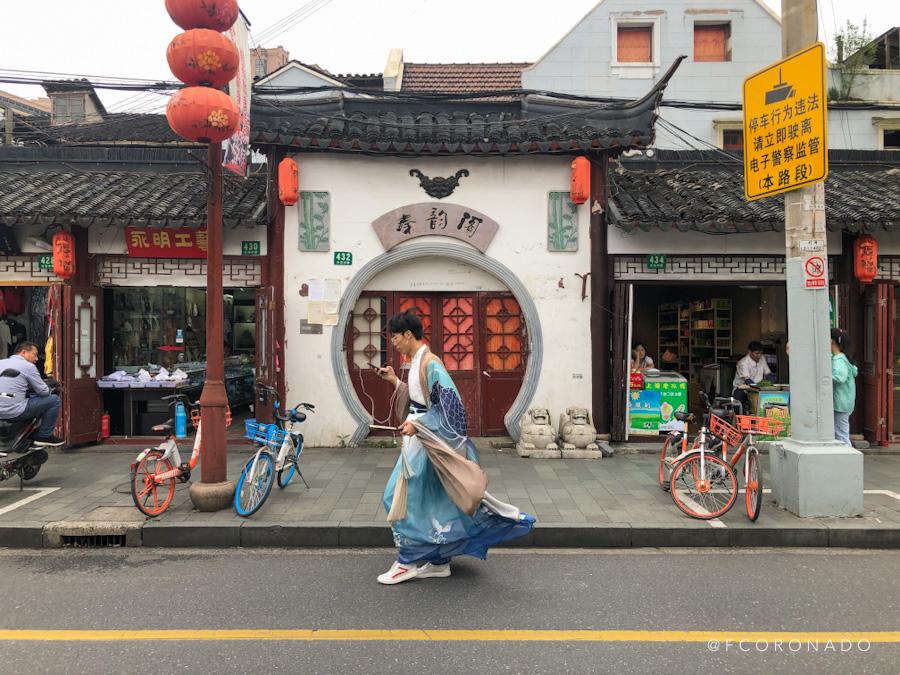 foto callejera en china