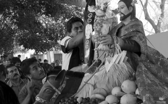 procesión El señor del Burrito