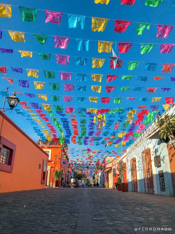 calles del centro historico de oaxaca