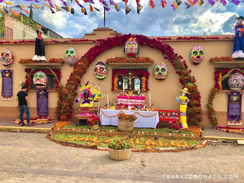celebracion dia de muertos en oaxaca