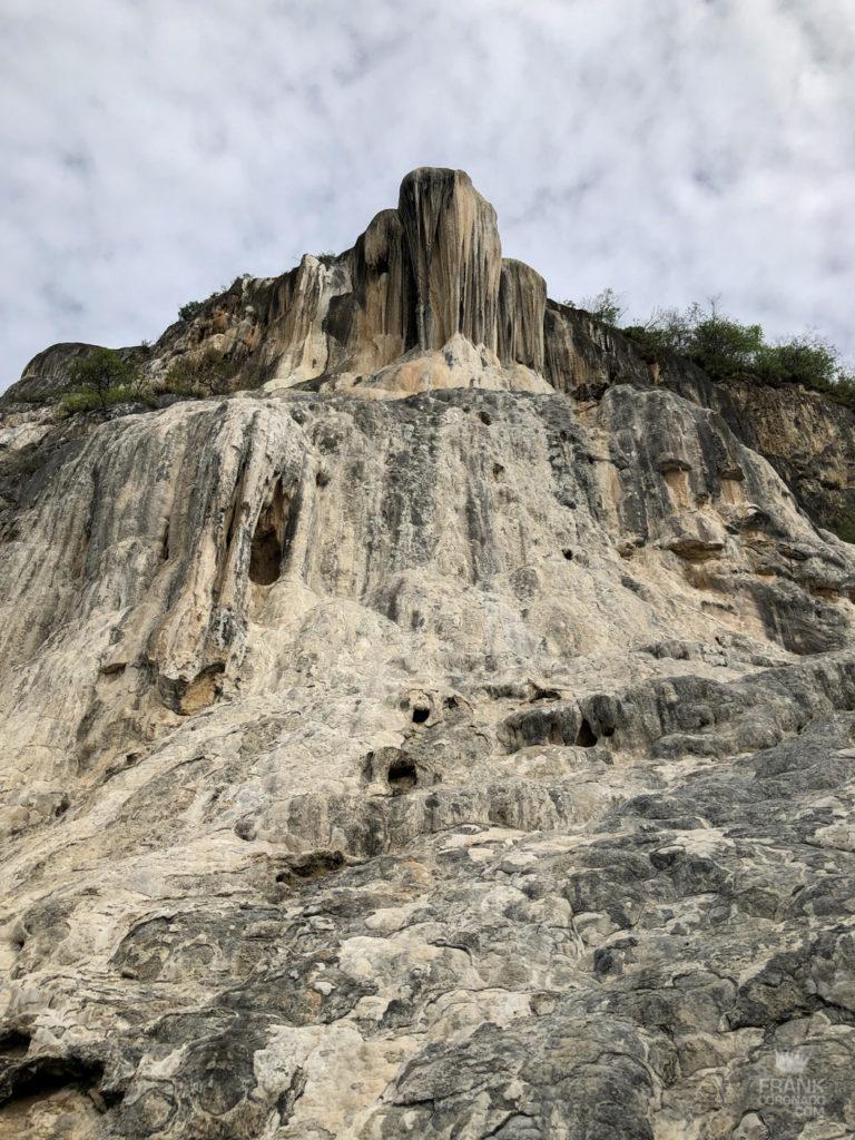 cascada petrificada hierve el agua