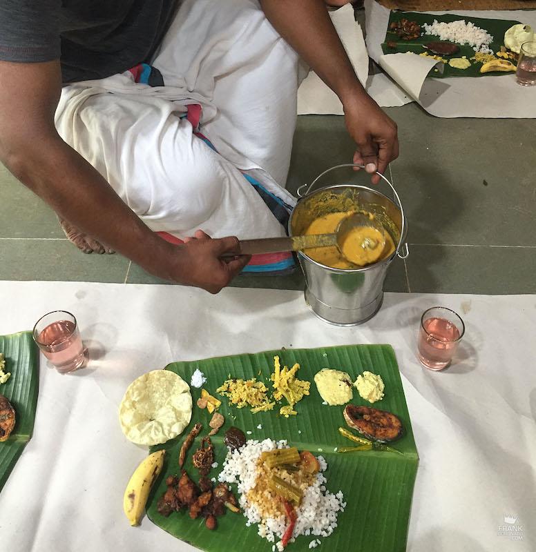 que se come en la india