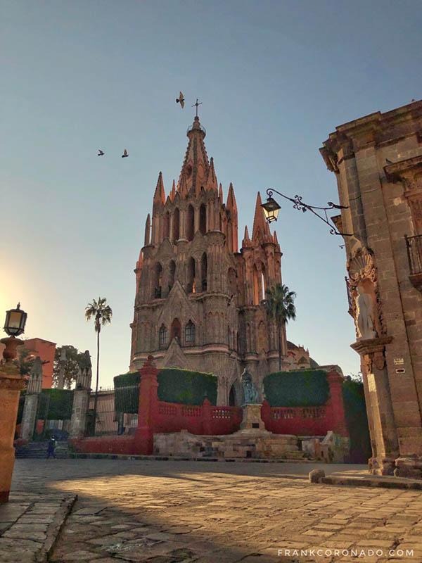 amanecer en San Miguel de Allende