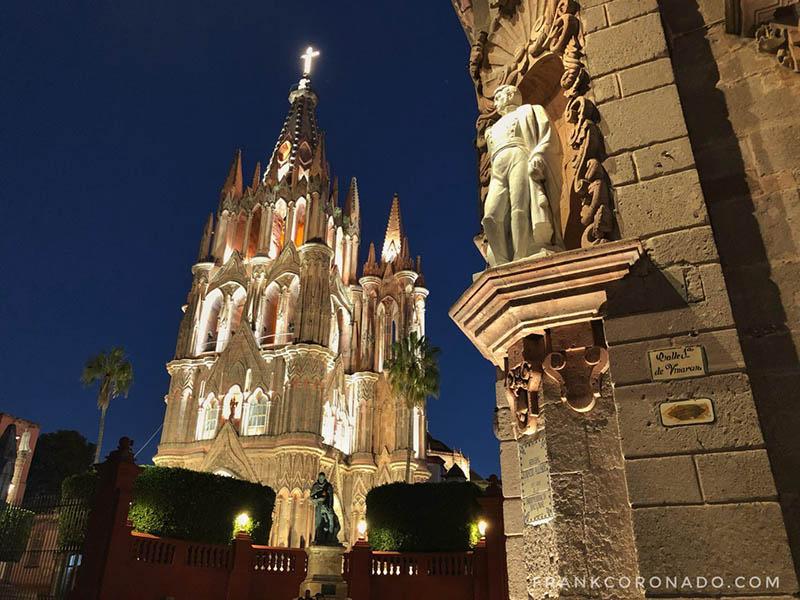 San Miguel de Allende de noche