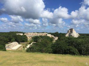 zona arqueologica uxmal yucatan