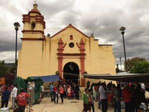 Templod e San Lucas Tlanichico Oaxaca