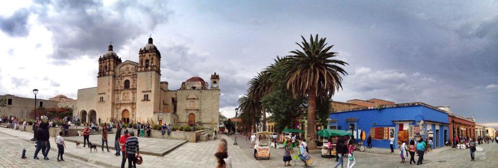 Santo domingo y andador turistico de Oaxaca