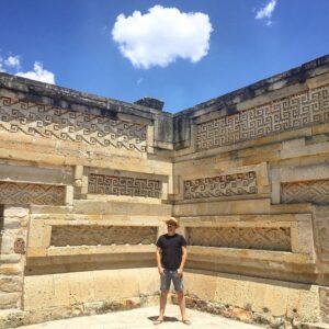 Zona arqueológica de Mitla grecas