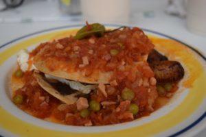 Huevos motuleños en Merida Yucatán
