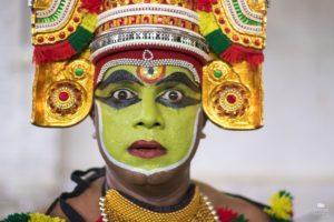 Kathakali, danza de Kerala India