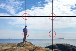 como aplicar la regla de tercios en fotografia