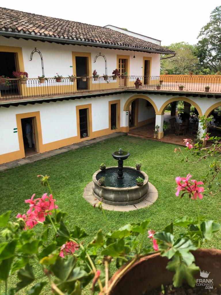 patio ex hacienda de Lencero en xalapa
