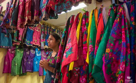 mascadas en em mercado de tlacolula