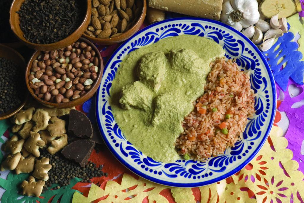 pipiean verde de Puebla