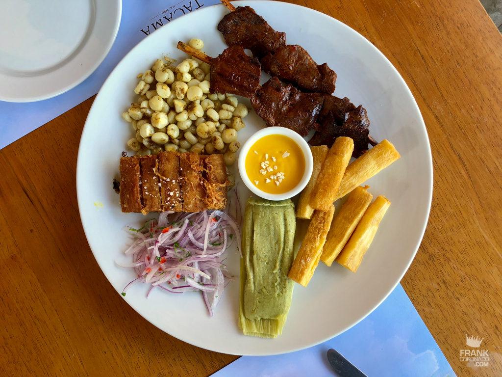 entradas de la gastronomia peruana
