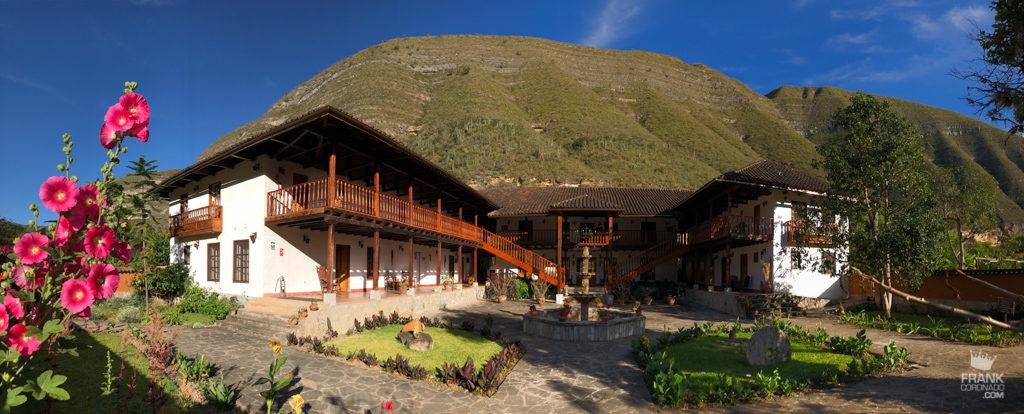 casa hacienda achamaqui en chachapoyas peru
