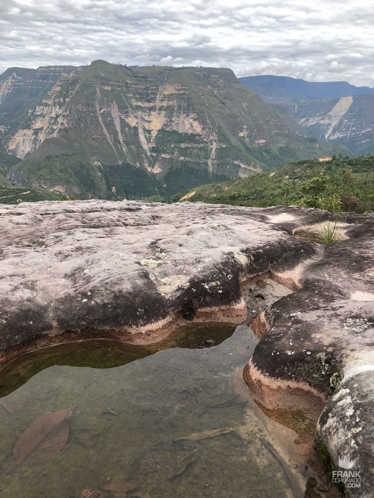 paisaje rumbo a las cataratas de gocta