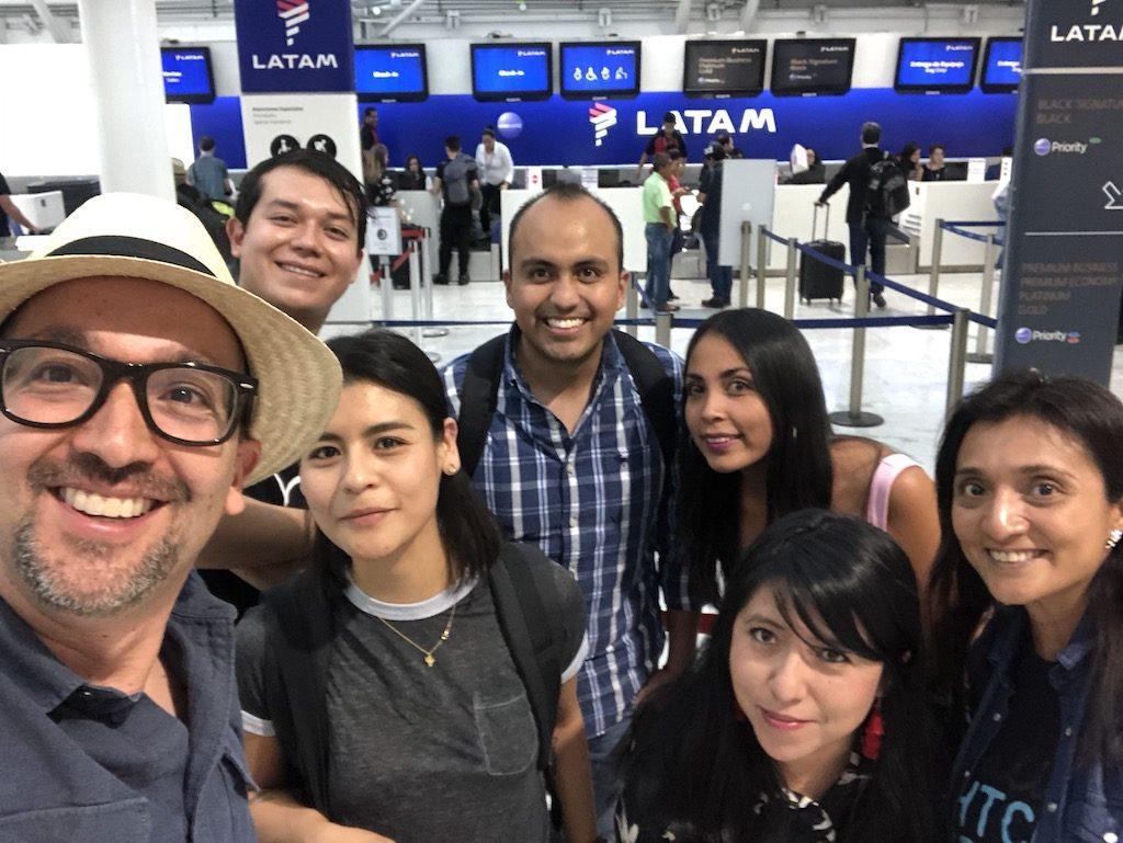 Como volar de mexico a Peru