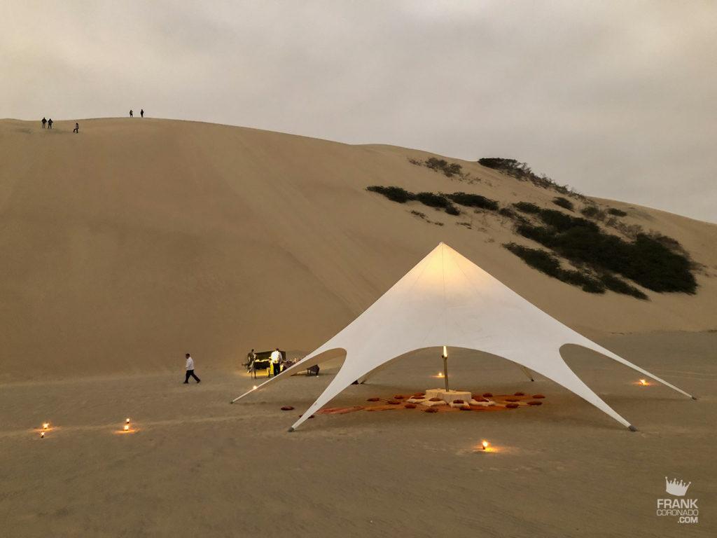 dunas del desierto del peru