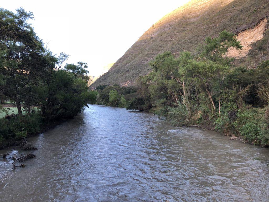 rio uctubamba a un costado de casa hacienda achamaqui