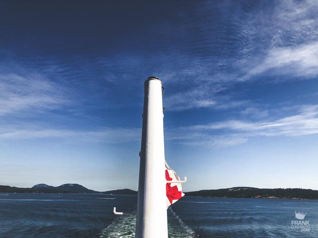 abstraccion de bandera de canada