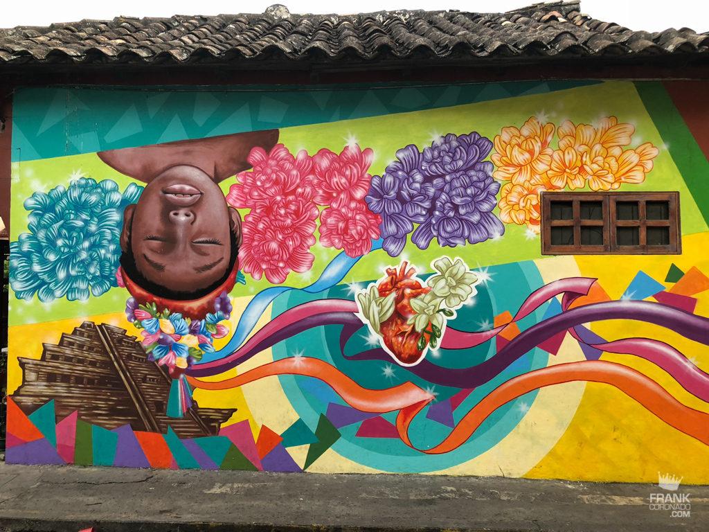 arte urbano de papantla veracruz