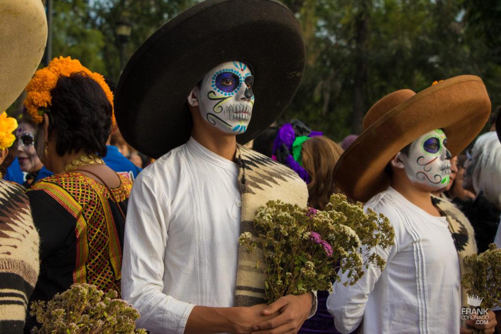 disfraces dia de muertos oaxaca mexico