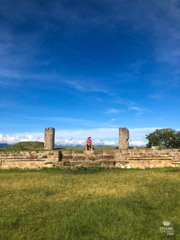 Columnas de monte alban