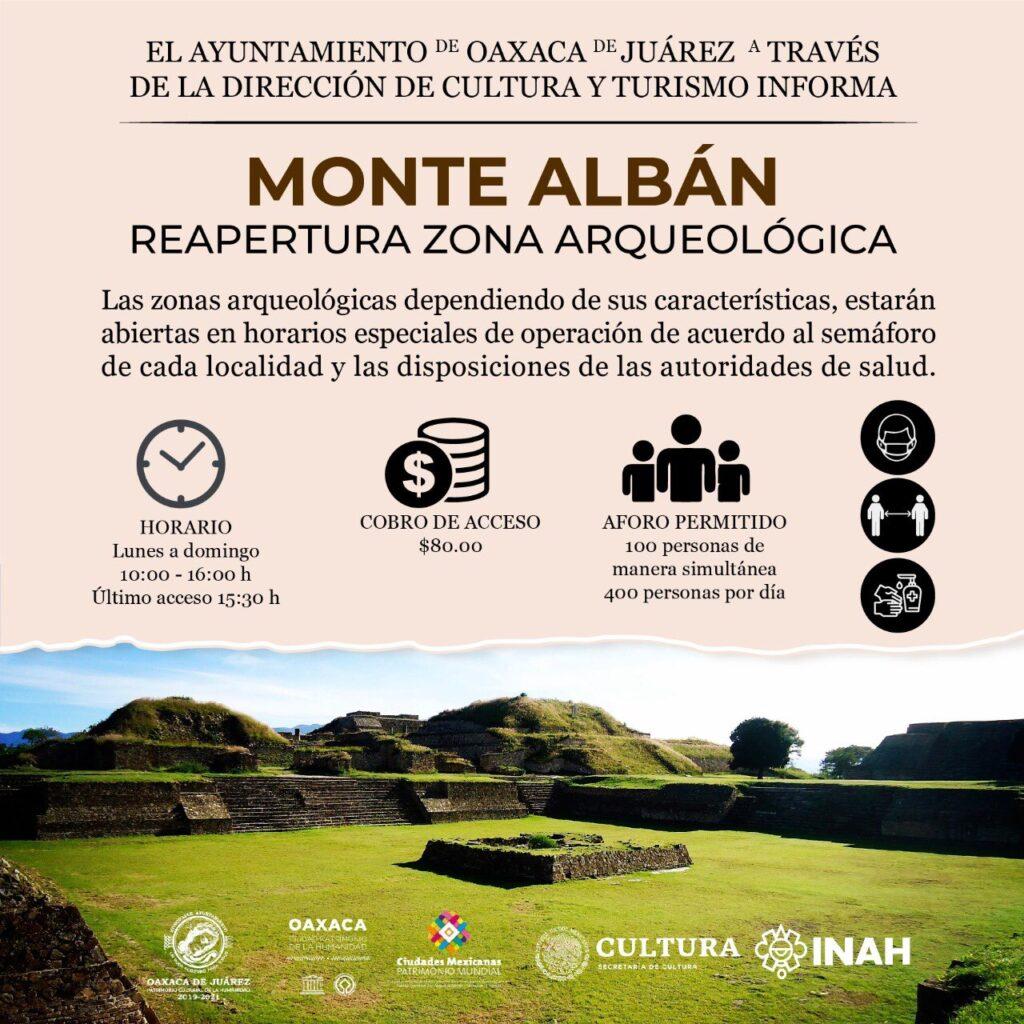 información de Monte Albán