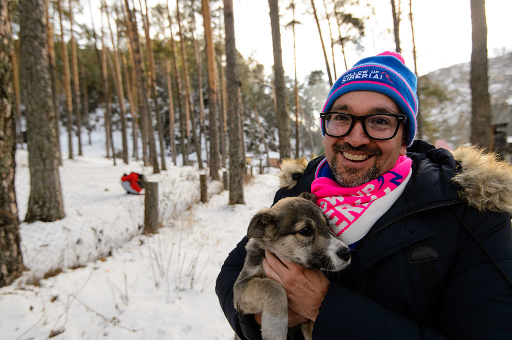 perro en siberia
