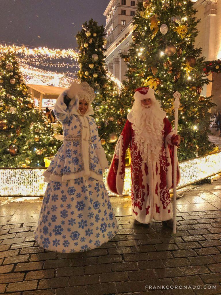 Personajes navidad rusia