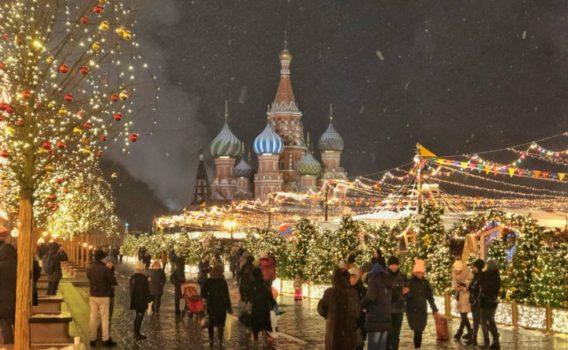 Catedral San Basilio Navidad, que ver en moscu, navidad en rusia