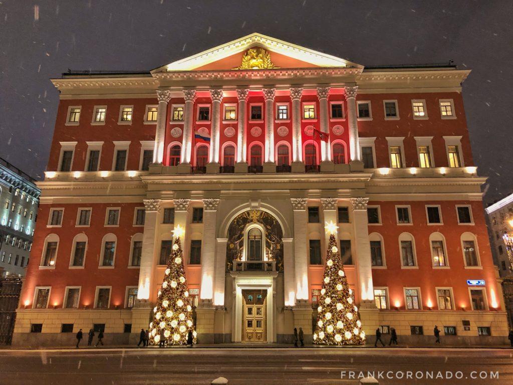 Como es la navidad en Moscú