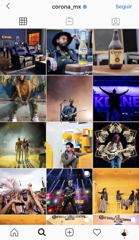 empresas en instagram