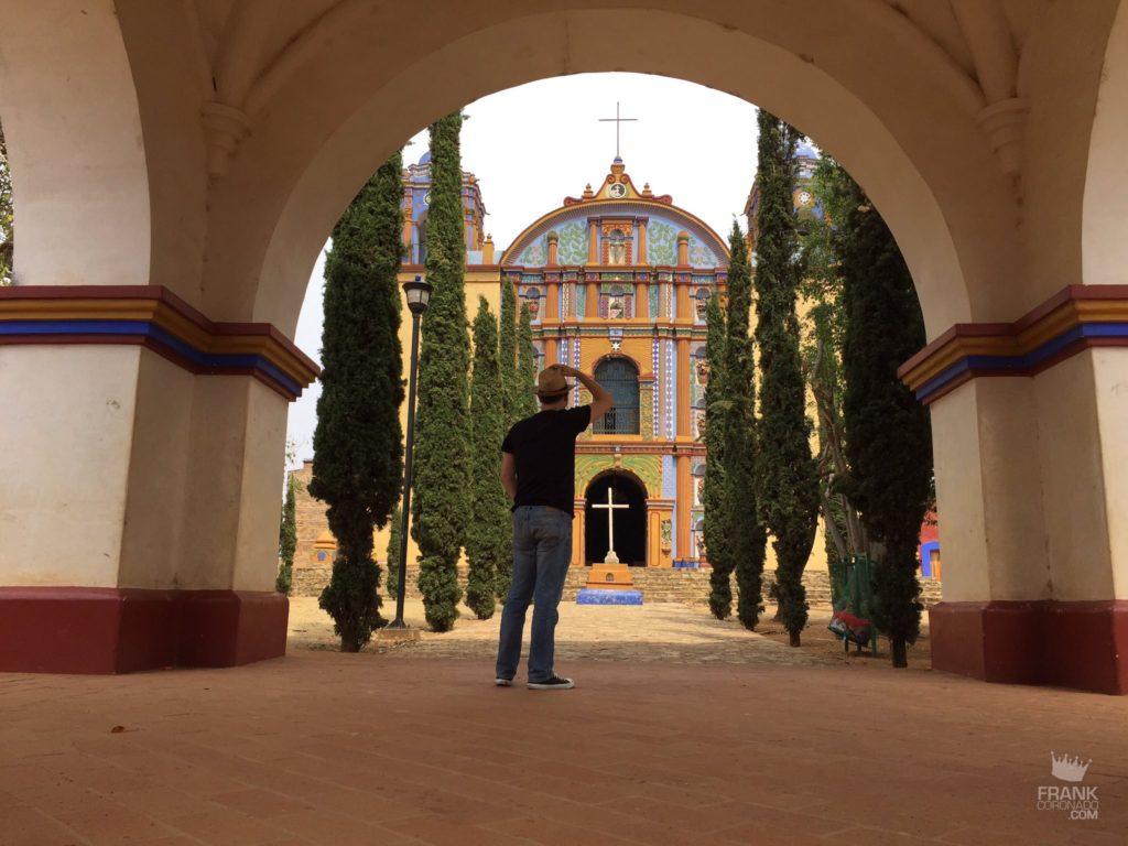 fachada templo santa ana zegache