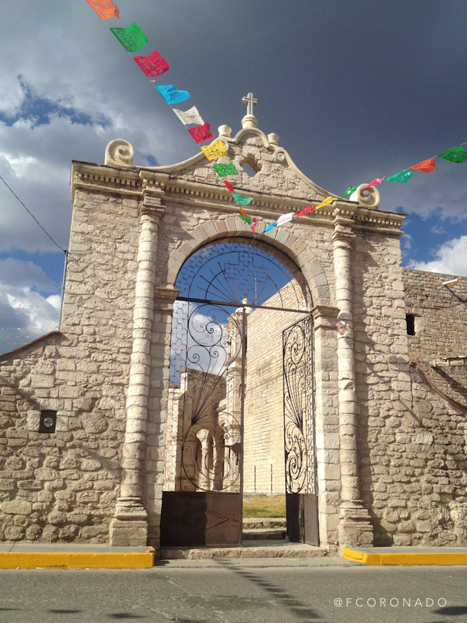 entrada a templo teposcolula