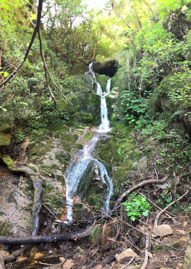 cascada en la sierra norte