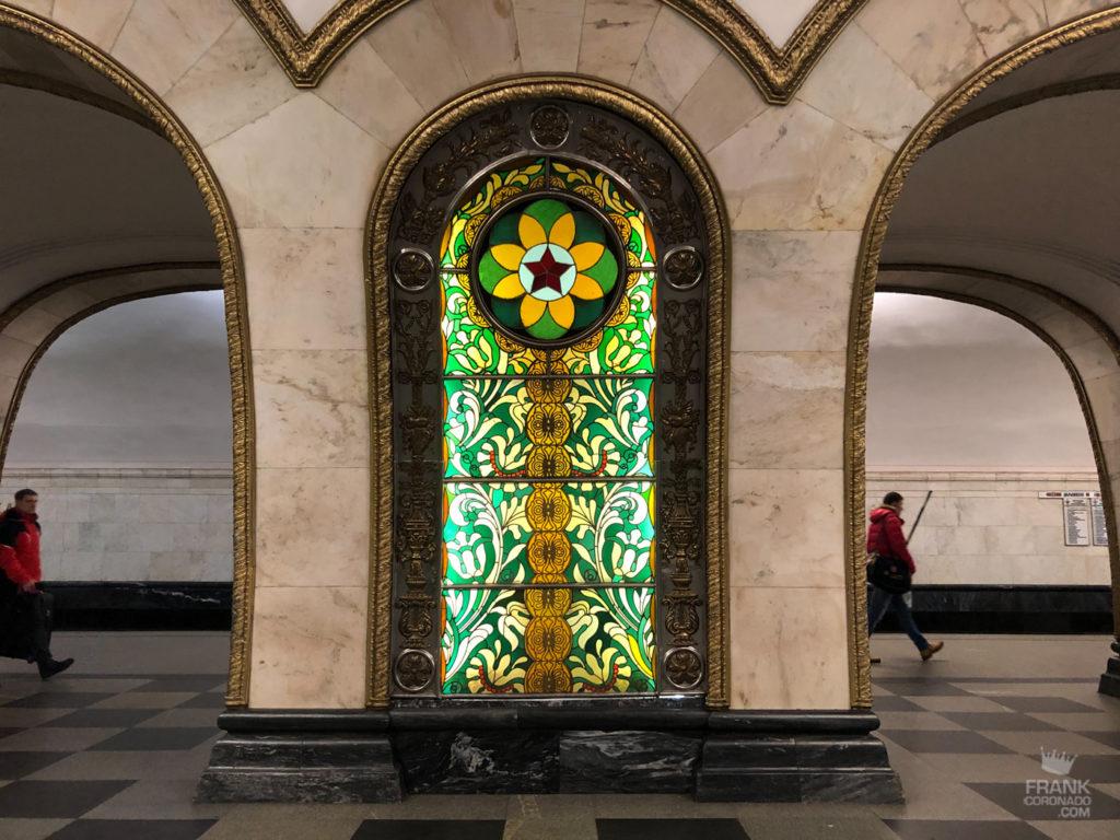 novoslobodskaya metro moscu