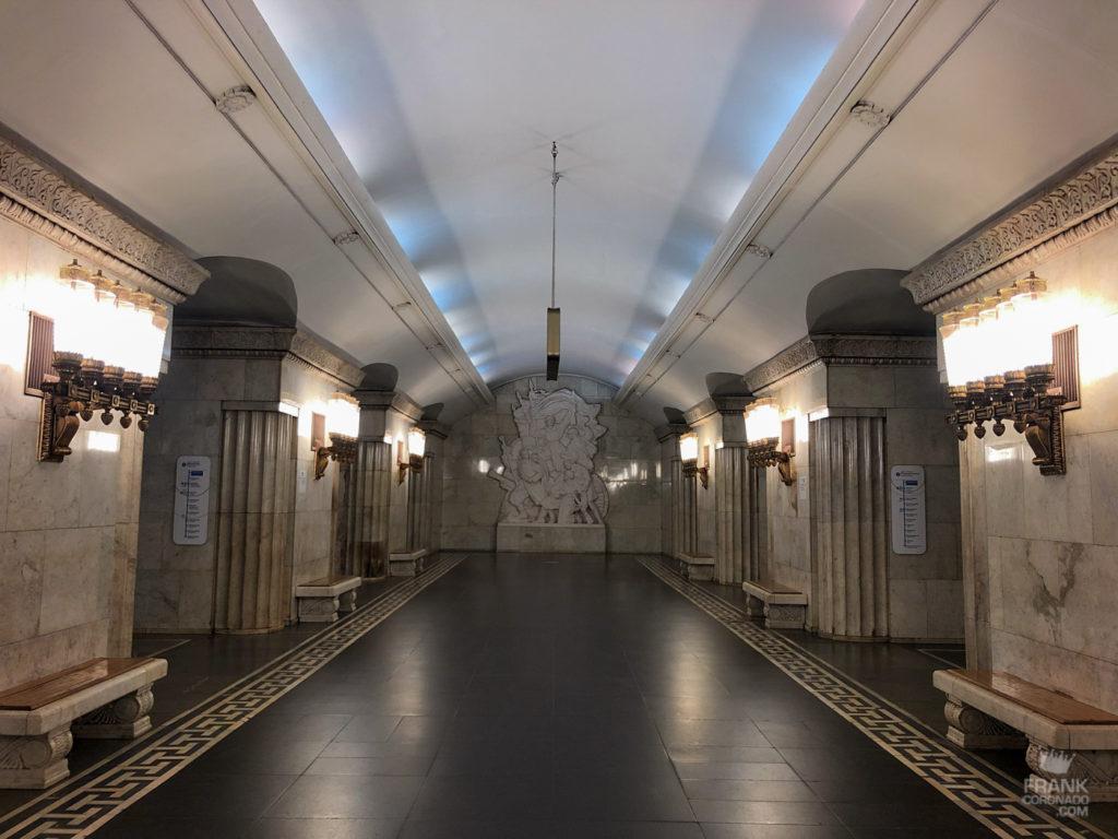 smolenskaya metro moscu