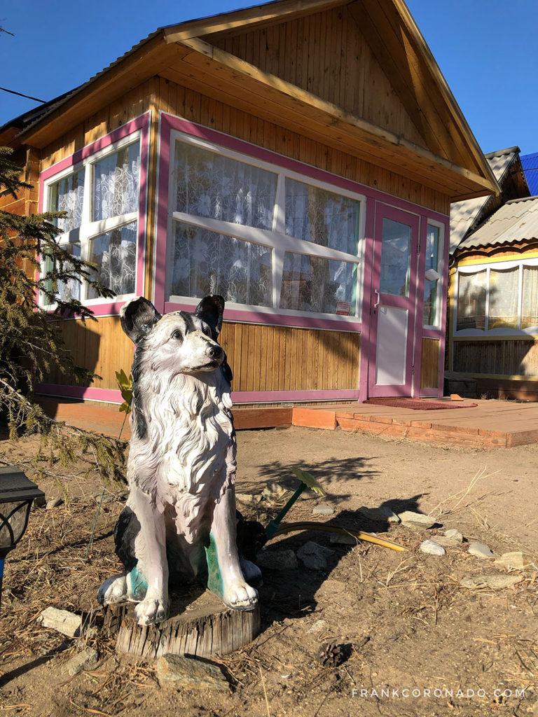 alojamiento lago baikal rusia
