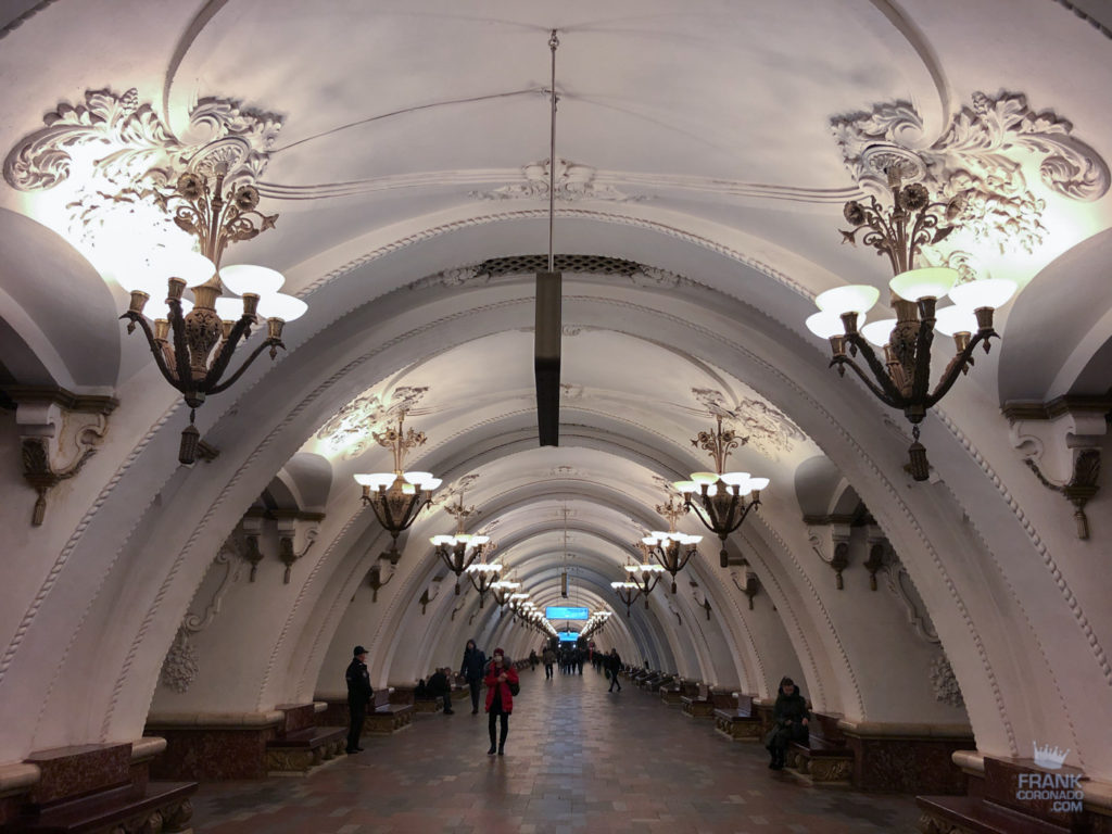 Arbatskaya metro moscu