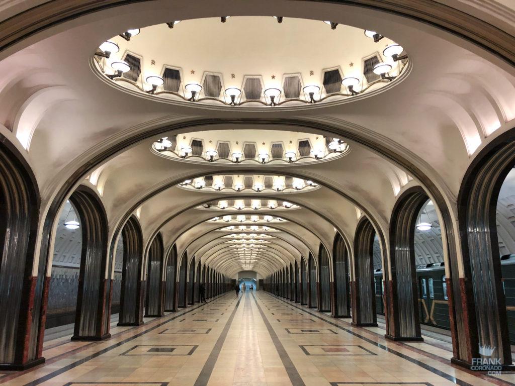 Mayakovskaya metro moscu
