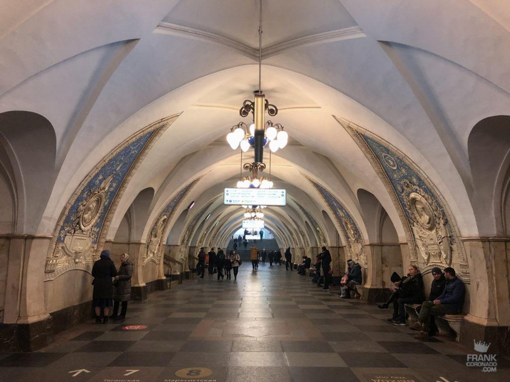 Taganskaya metro moscu